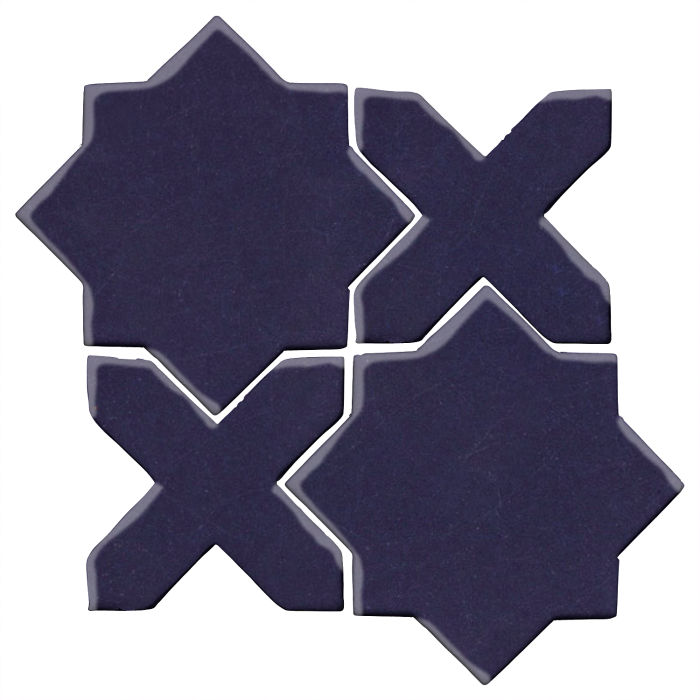 Studio Field Arabesque Pattern 2C Midnight Blue 2965c