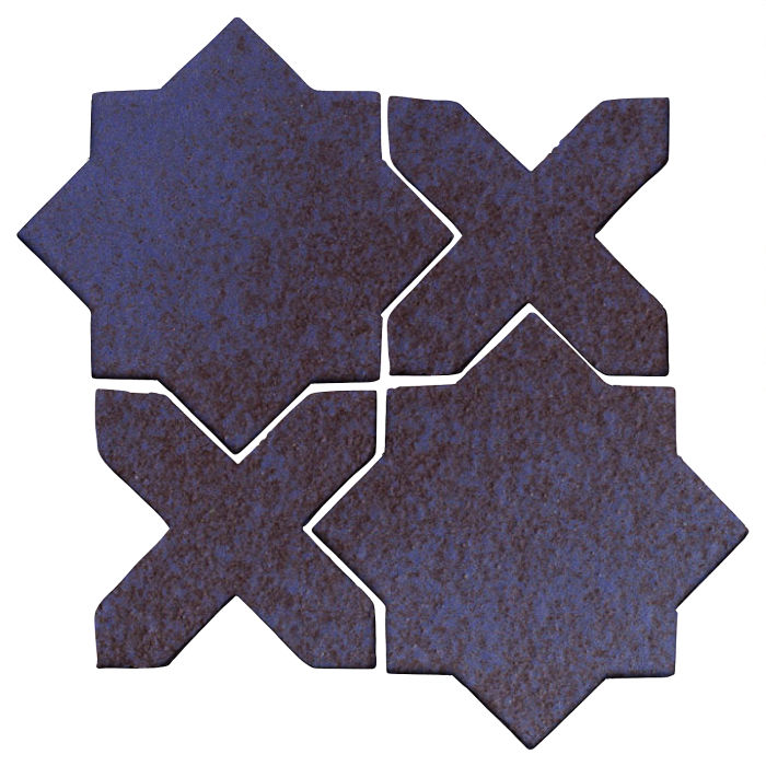 Studio Field Arabesque Pattern 2C Persian Blue