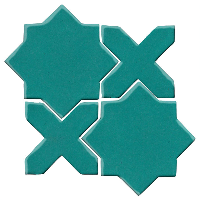 Studio Field Arabesque Pattern 2C Real Teal 5483c