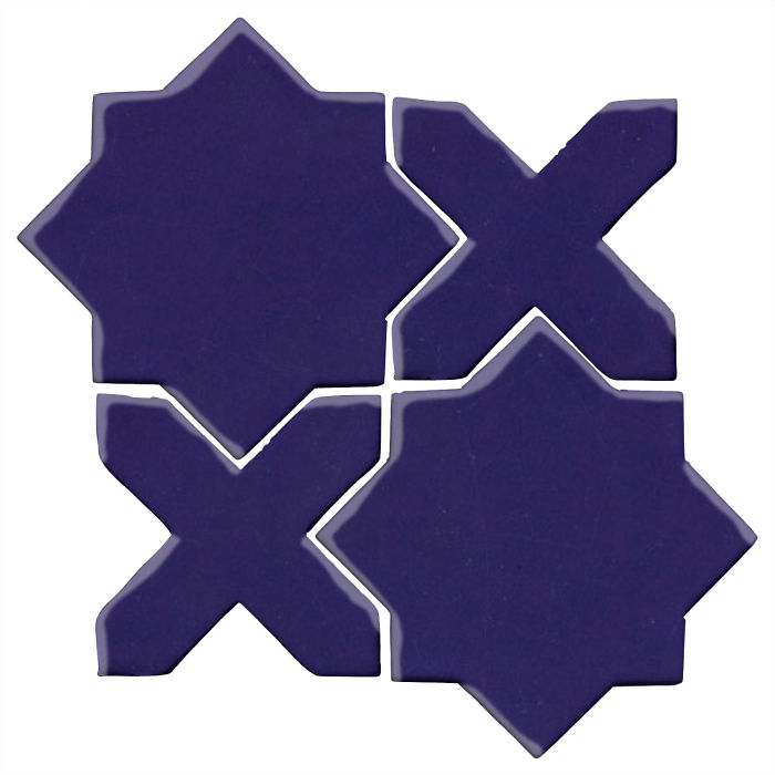 Studio Field Arabesque Pattern 2C Ultramarine 2758c