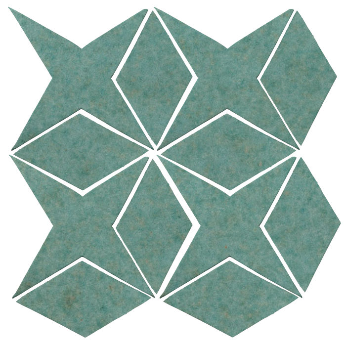 Studio Field Arabesque Pattern 4 Aqua 5503u