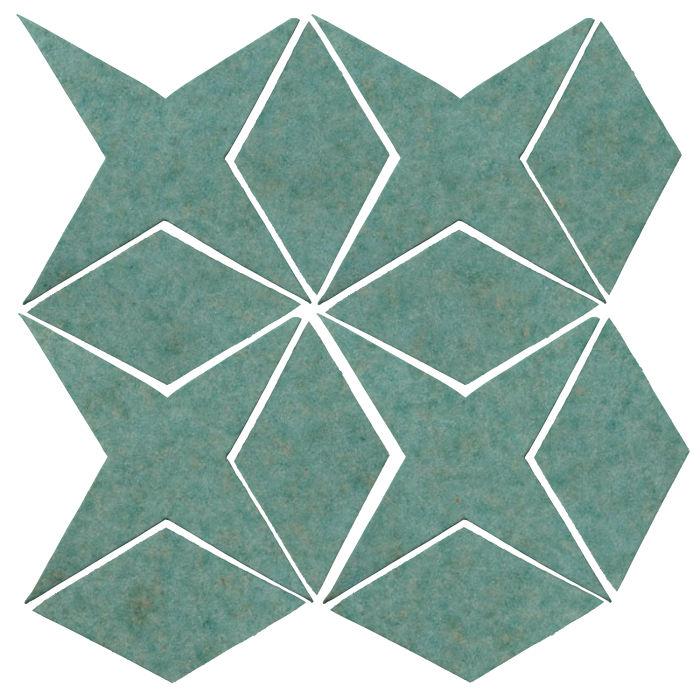 Studio Field Arabesque Pattern 4 Aqua 5503u