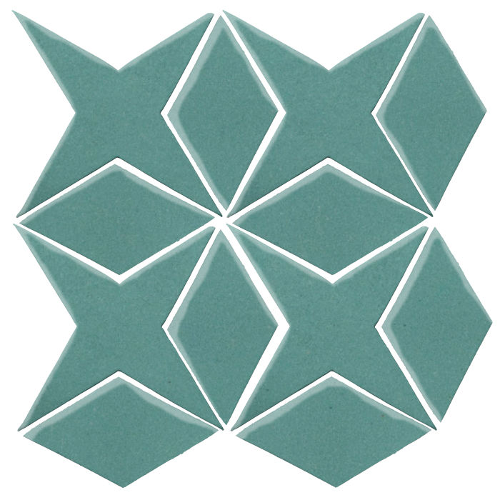 Studio Field Arabesque Pattern 4 Blue Haze 7458c