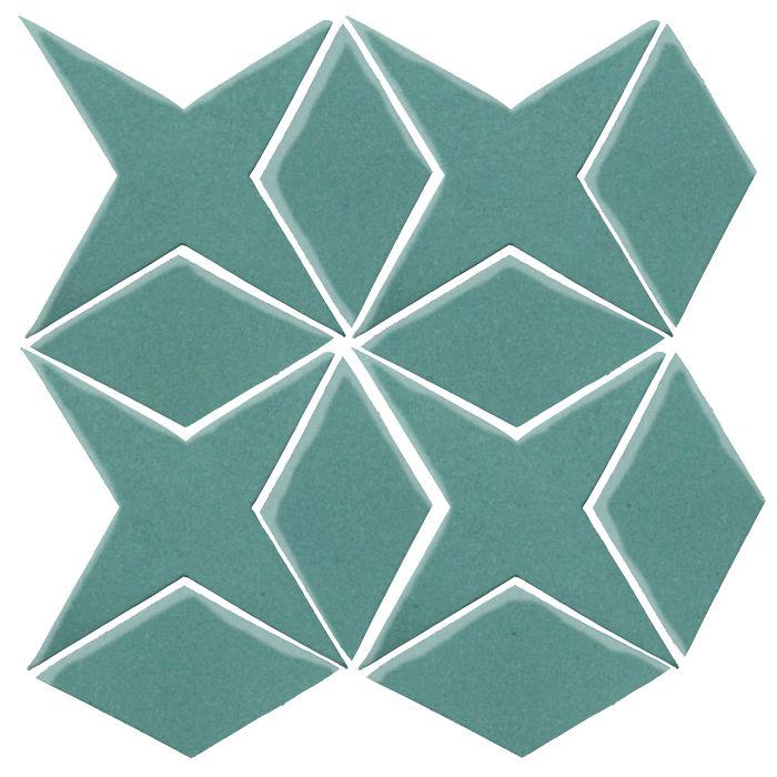 Studio Field Arabesque Pattern 4 Blue Haze 7458c
