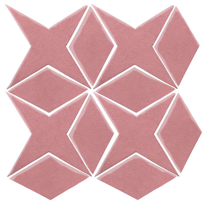 Studio Field Arabesque Pattern 4 Bubble Gum