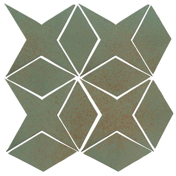 Studio Field Arabesque Pattern 4 Chrome