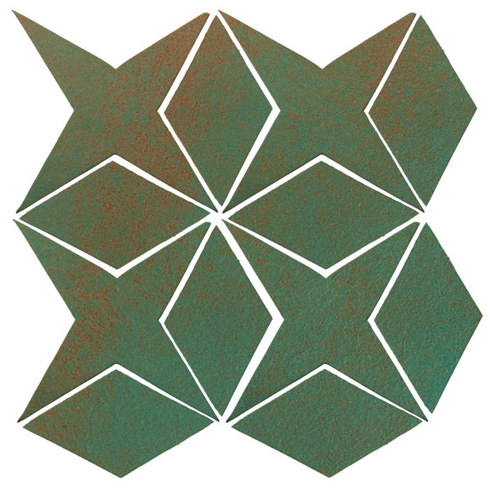 Studio Field Arabesque Pattern 4 Copper