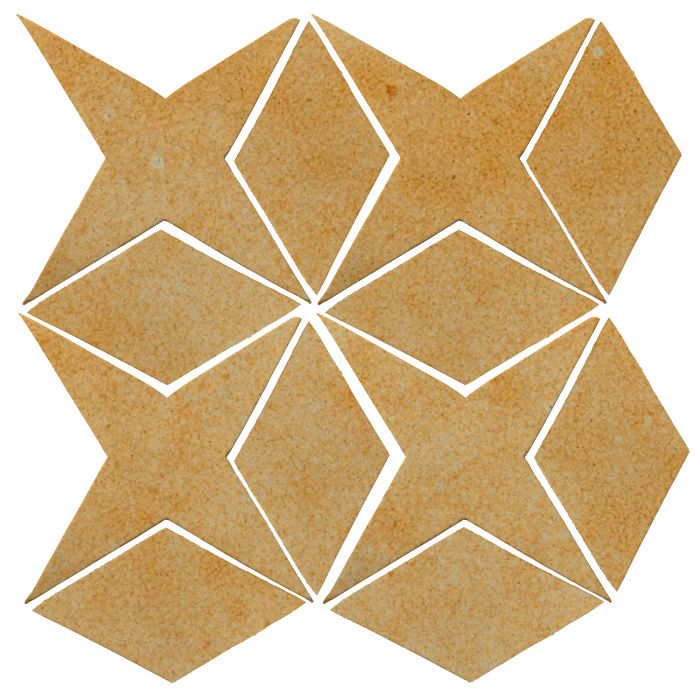 Studio Field Arabesque Pattern 4 Deli Mustard 7551u