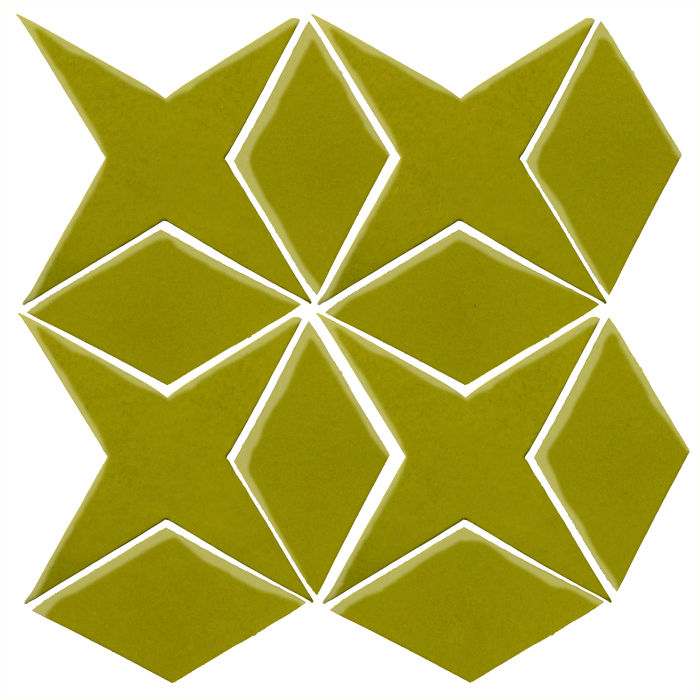 Studio Field Arabesque Pattern 4 Guacamole 7495c