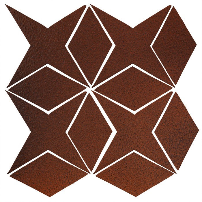 Studio Field Arabesque Pattern 4 Leather