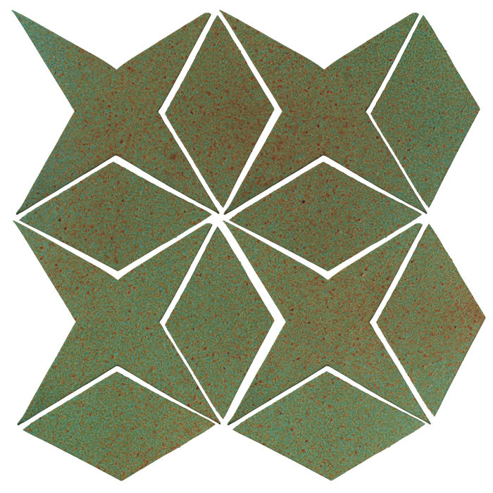 Studio Field Arabesque Pattern 4 Light Copper