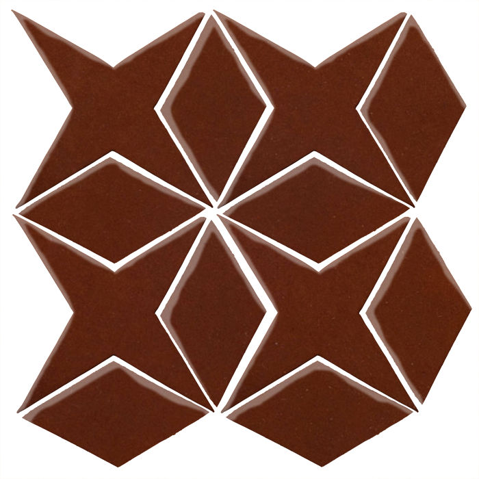 Studio Field Arabesque Pattern 4 Mocha 7581c