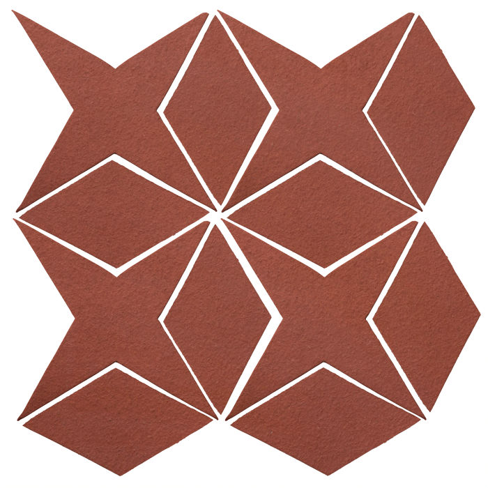 Studio Field Arabesque Pattern 4 Monrovia Red