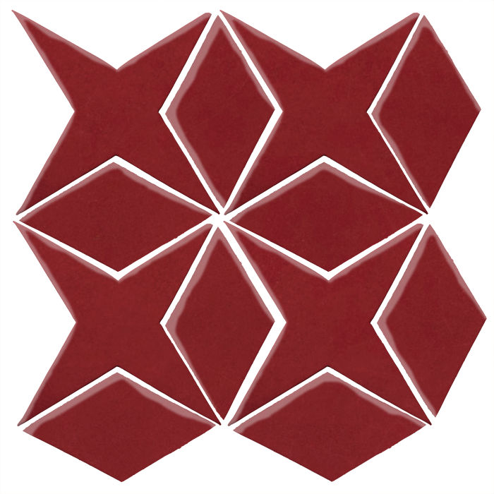 Studio Field Arabesque Pattern 4 Pinot Noir 7642c