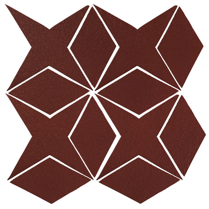 Studio Field Arabesque Pattern 4 Pueblo Red