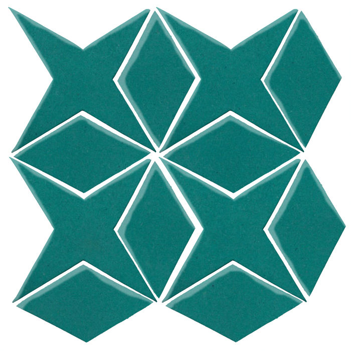 Studio Field Arabesque Pattern 4 Real Teal 5483c