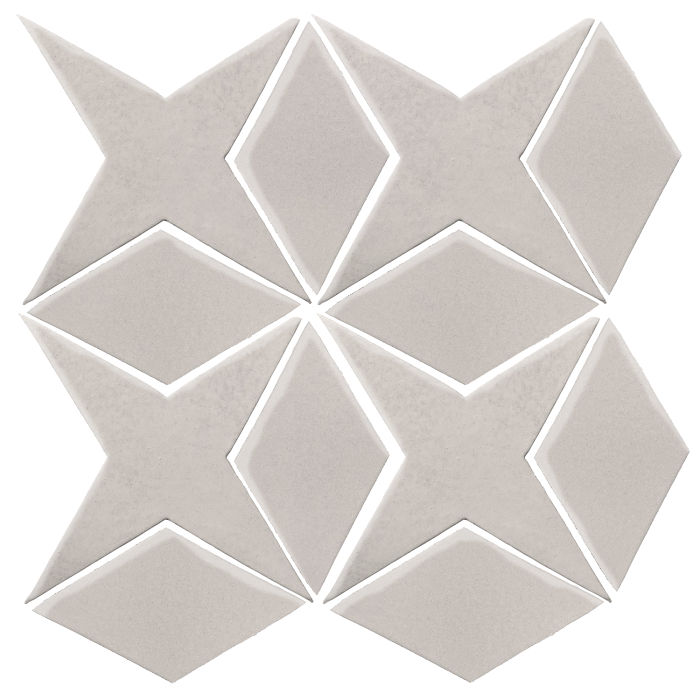 Studio Field Arabesque Pattern 4 Pure White