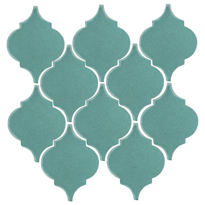 Studio Field Arabesque Pattern 5A Blue Haze 7458c