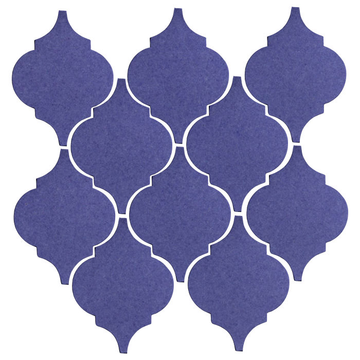 Studio Field Arabesque Pattern 5A Blue Satin 7684u