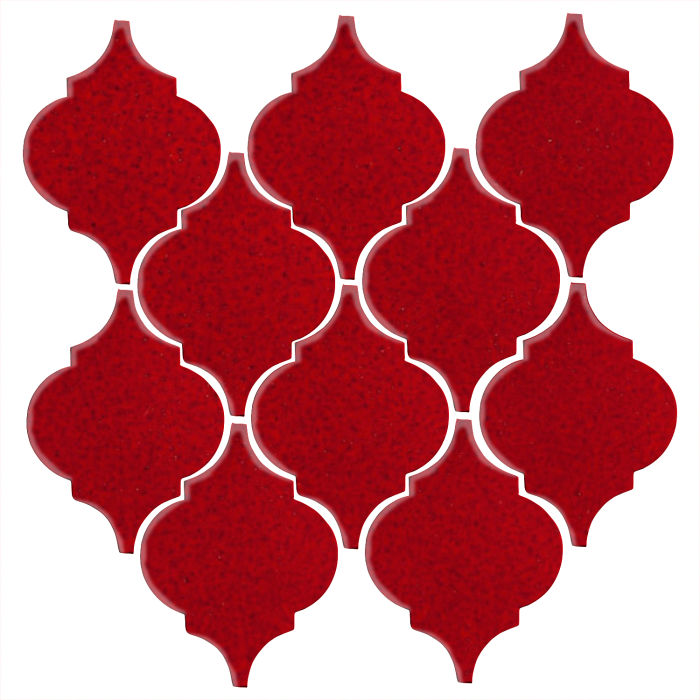 Studio Field Arabesque Pattern 5A Cadmium Red 202c
