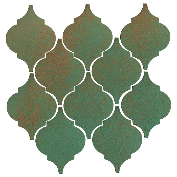 Studio Field Arabesque Pattern 5A Copper