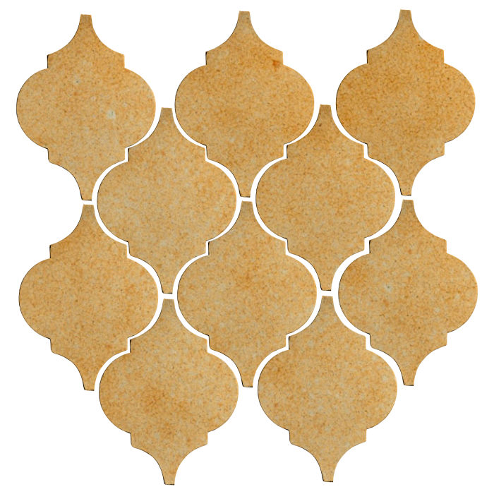 Studio Field Arabesque Pattern 5A Deli Mustard 7551u