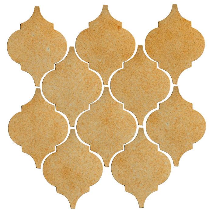 Studio Field Arabesque Pattern 5A Deli Mustard 7551u