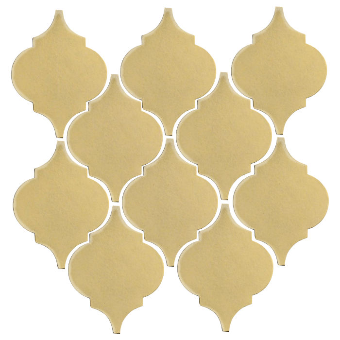 Studio Field Arabesque Pattern 5A Egg Cream 0131c