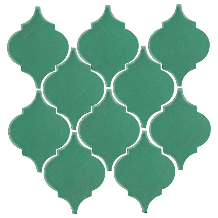 Studio Field Arabesque Pattern 5A Kale 7723c