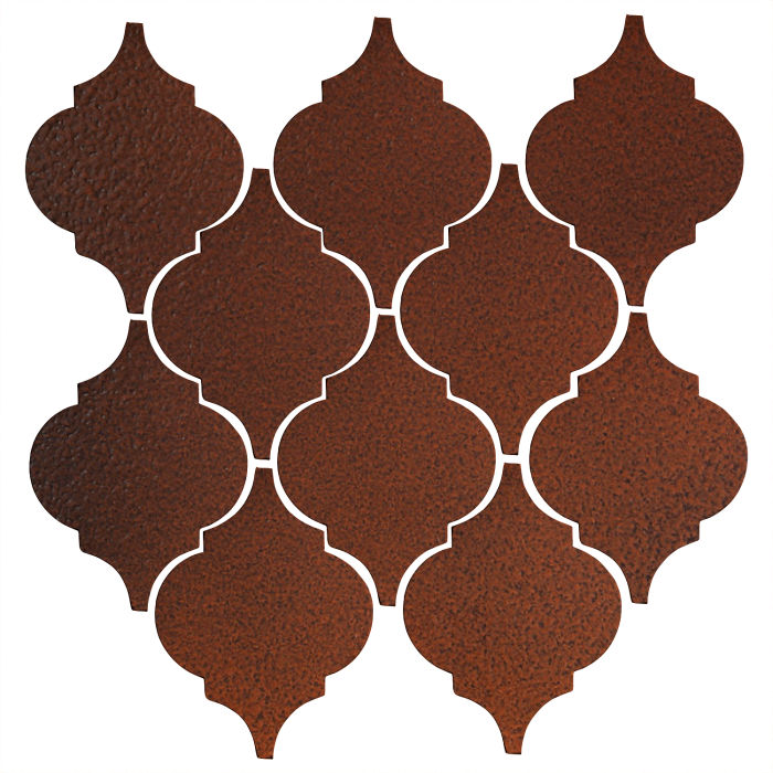 Studio Field Arabesque Pattern 5A Leather
