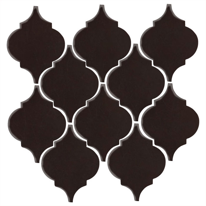 Studio Field Arabesque Pattern 5A Licorice