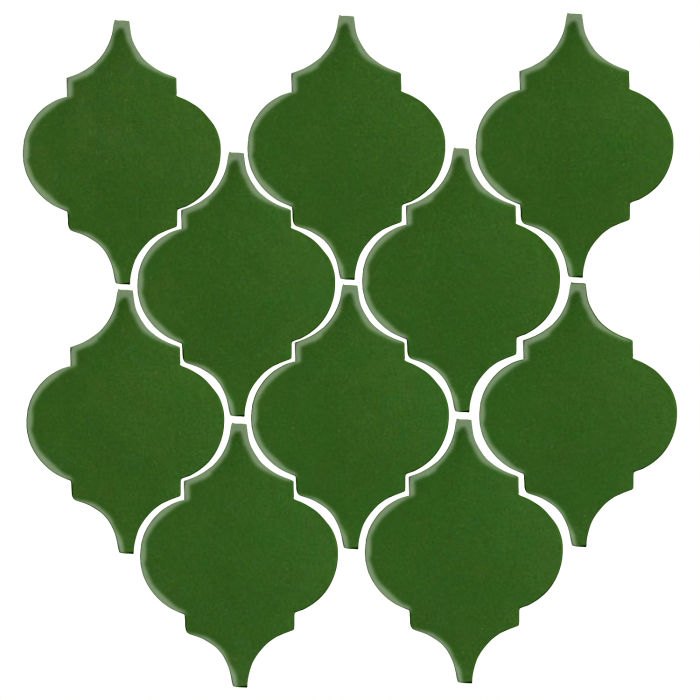 Studio Field Arabesque Pattern 5A Lucky Green 7734c
