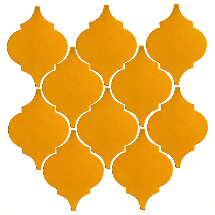 Studio Field Arabesque Pattern 5A Mandarin 129u