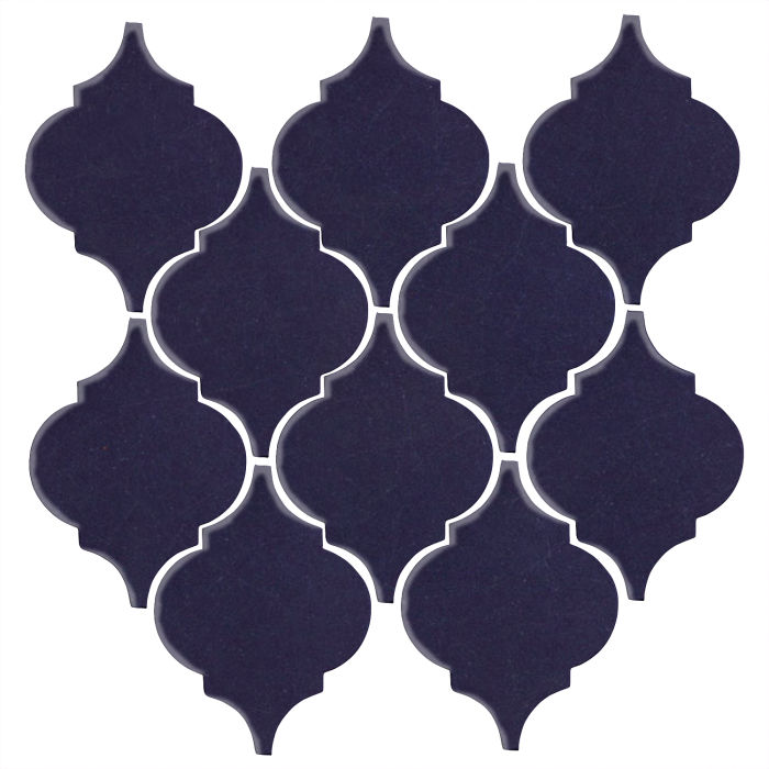 Studio Field Arabesque Pattern 5A Midnight Blue 2965c
