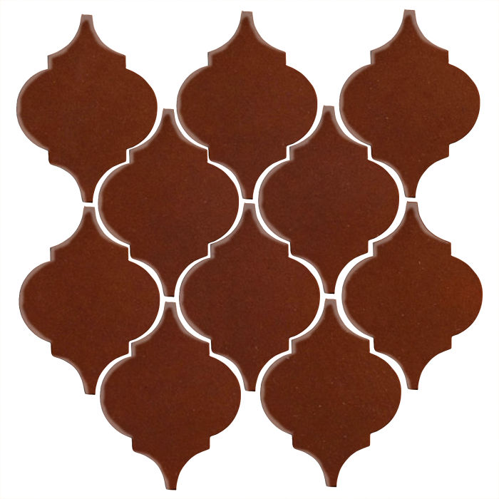 Studio Field Arabesque Pattern 5A Mocha 7581c