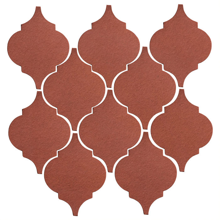Studio Field Arabesque Pattern 5A Monrovia Red