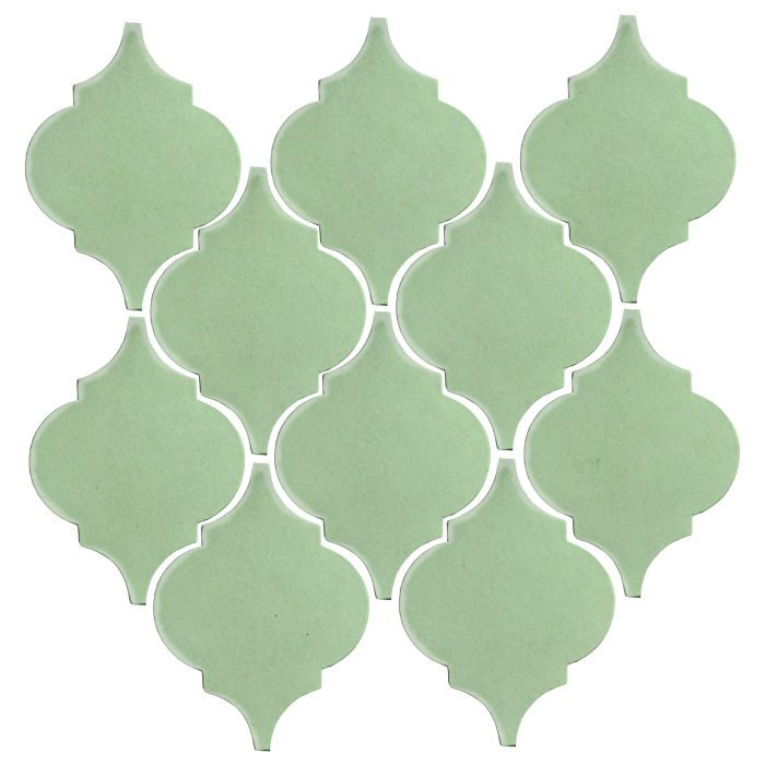 Studio Field Arabesque Pattern 5A Peppermint