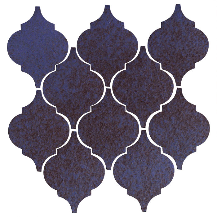 Studio Field Arabesque Pattern 5A Persian Blue
