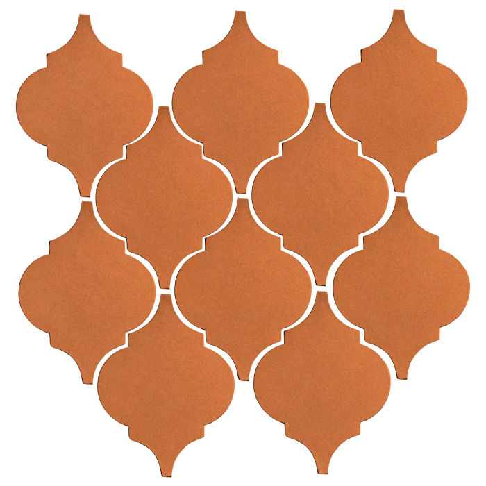 Studio Field Arabesque Pattern 5A Pottery Brown 470u