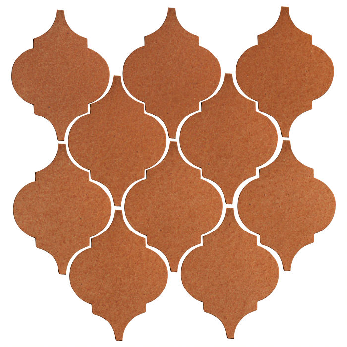 Studio Field Arabesque Pattern 5A Red Iron