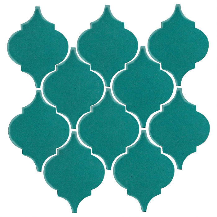 Studio Field Arabesque Pattern 5A Real Teal 5483c
