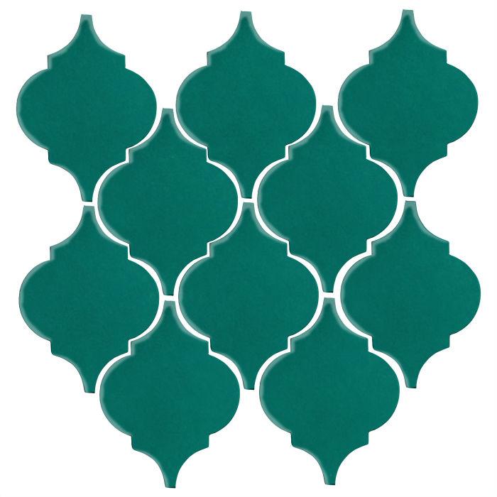 Studio Field Arabesque Pattern 5A Viridian 7721c
