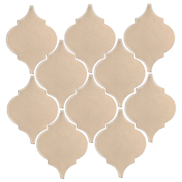 Studio Field Arabesque Pattern 5A White Bread 7506c