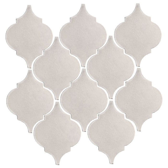 Studio Field Arabesque Pattern 5A Pure White
