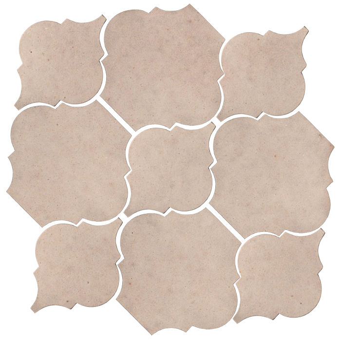 Studio Field Arabesque Pattern 5B Alabaster CG1u