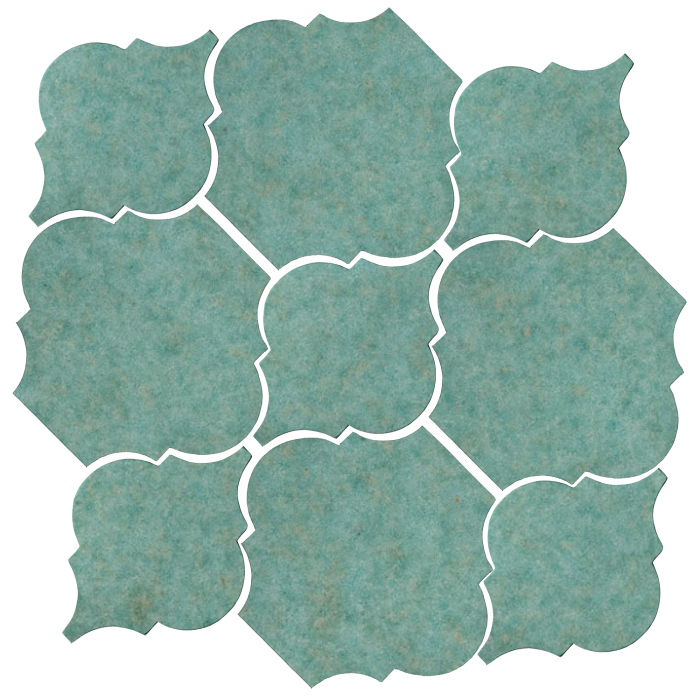 Studio Field Arabesque Pattern 5B Aqua 5503u