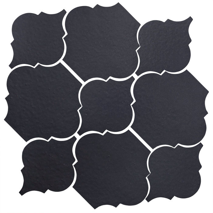 Studio Field Arabesque Pattern 5B Black Diamond