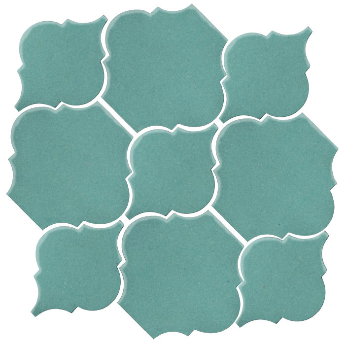Studio Field Arabesque Pattern 5B Blue Haze 7458c