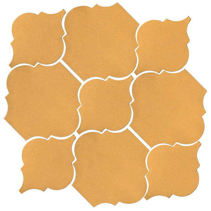 Studio Field Arabesque Pattern 5B Custard 7403u