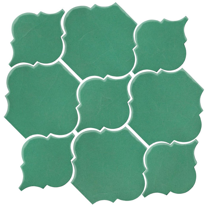 Studio Field Arabesque Pattern 5B Kale 7723c